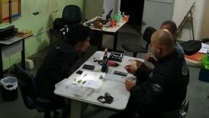 Construindo o microscópio